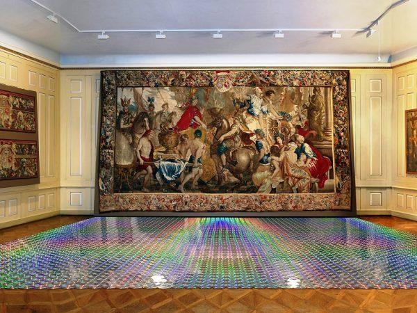 Data carpet ./. baroque tapestry | Detlef Schweiger